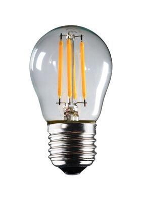 Luzarana E27 G45 6 Watt Gün Işığı Standart Tip Filament Edison Tip Rustik Led Top Ampül (HEKA) 0