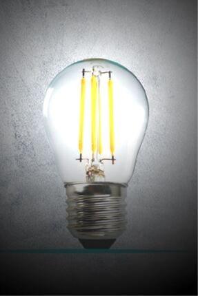 Luzarana E27 G45 6 Watt Gün Işığı Standart Tip Filament Edison Tip Rustik Led Top Ampül (HEKA) 3