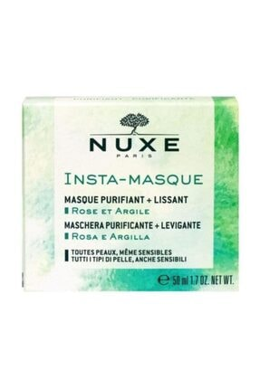 Nuxe Masque Purifiant+ Lissant Insta Masque Arındırıcı Maske 50 ml 0