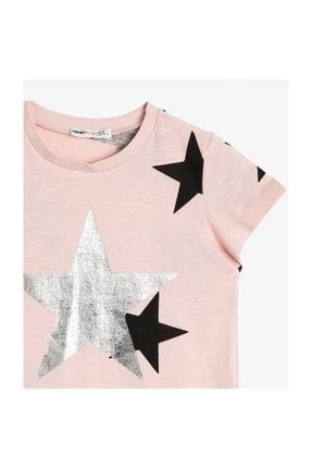 Koton Pembe Kız Çocuk T-Shirt 0YKG17587GK 2