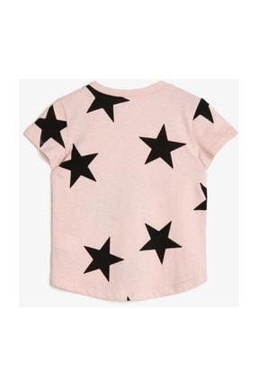 Koton Pembe Kız Çocuk T-Shirt 0YKG17587GK 1