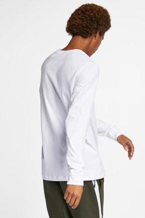 Nike Club Erkek Beyaz Sweatshirt (AR5193-100) 1