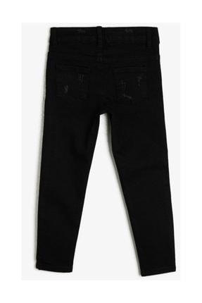 Koton Siyah Kız Çocuk Pantolon 0YKG47873OD 1