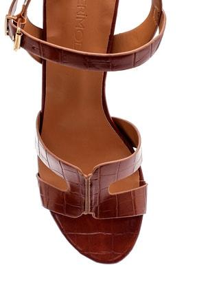 Derimod Kadın Kroko Desenli Sandalet 4