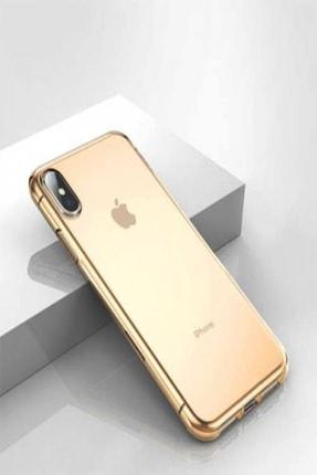 Mopal Iphone Xs Max Şeffaf Silikon Kılıf Tıpalı 1