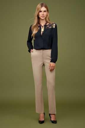 Naramaxx Kadın Toprak Rengi Pantolon 18K11113Y398 0