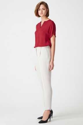 Naramaxx Kadın Bej Pantolon 1