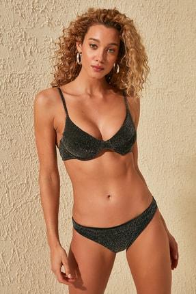 TRENDYOLMİLLA Siyah Parlak  Bikini Altı TBESS20BA0214 1