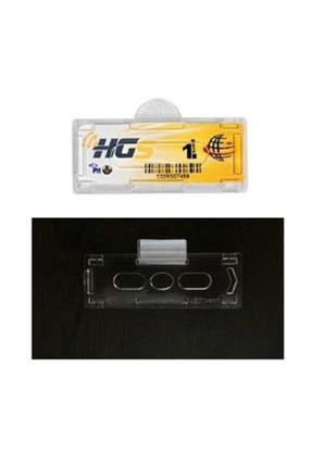 narım Hgs Etiket Kabı Şeffaf Yapıştırmalı Sert Plastik Hgs Takmatik 1 Adet 0
