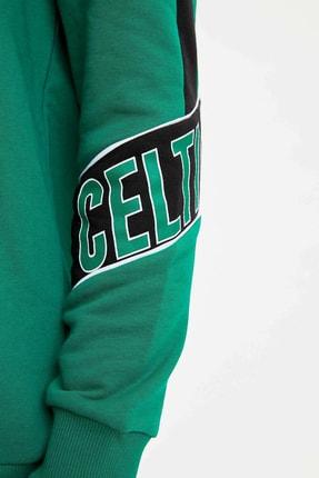 Defacto Erkek Yeşil Nba Lisanslı Sweatshirt N2605AZ.20SP.GN154 3