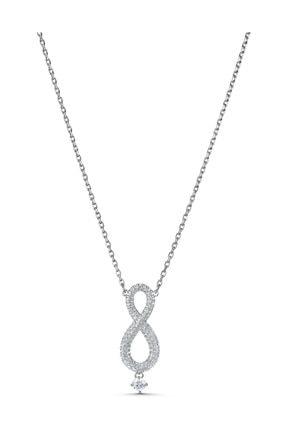 Swarovski Kolye Swa Infinity-necklace Lng Cry-czwh-rhs 5537966 0