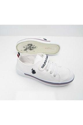 US Polo Assn PENELOPE 1FX Beyaz Erkek Çocuk Sneaker 100910628 3