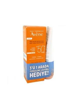 Avene Spf 50+ Cream 50 Ml Alana 3 In 1 Make Up Remover 50Ml 1