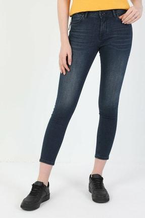 Colin's 759 Lara Süper Dar Kesim Normal Bel Süper Dar Paça Koyu Mavi Kadın Pantolon CL1048711 3