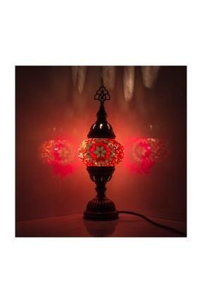 Mozaik Lamba Dekoratif Lamba Osmanlı Masa Lambası KRLP00242