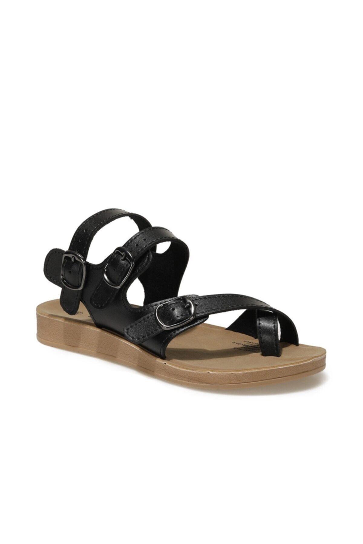 91.158657.Z1FX Siyah Kadın Sandalet 101020334