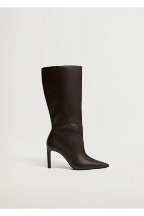 Mango Kadın Çikolata Çizme 87050086 2