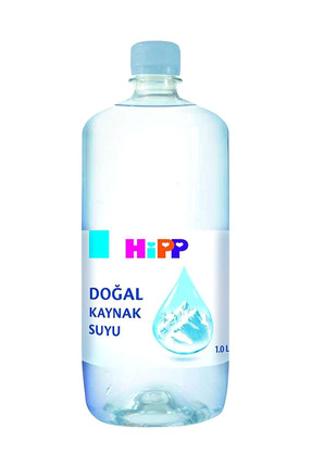 Hipp Doğal Kaynak Suyu 1 lt 0
