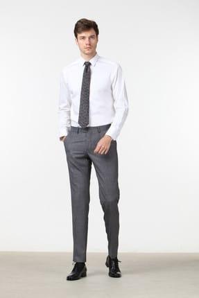 Ramsey Düz Dokuma Uzun Kollu Gömlek - RP10114050 1