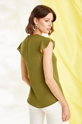 Journey Kadın Zeytin Yeşili Bluz 19YBLZ804 3