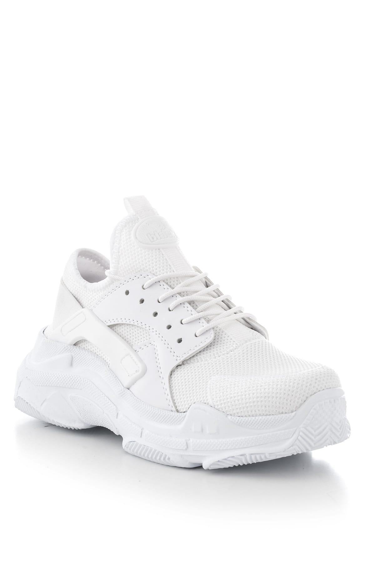 Beyaz Unisex Sneaker MLZ-0