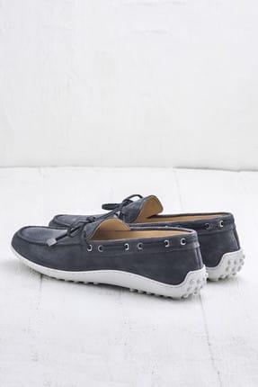 Elle TEON Hakiki Deri Gri Erkek Ayakkabı 2