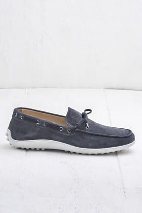 Elle TEON Hakiki Deri Gri Erkek Ayakkabı 3