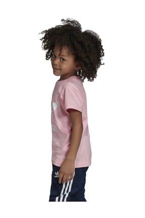 adidas Pembe Trefoıl Tee Çocuk T-Shirt 2