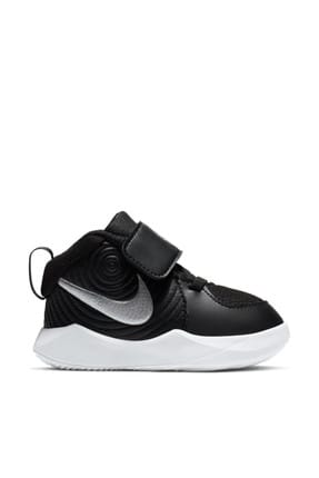 Nike Siyah Bebek Aq4226-001 Team Hustle Basket Ayakkabısı 0