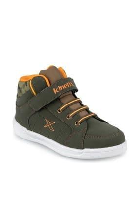 Kinetix LENKO HI C 9PR Haki Erkek Çocuk Sneaker Ayakkabı 100425851 3