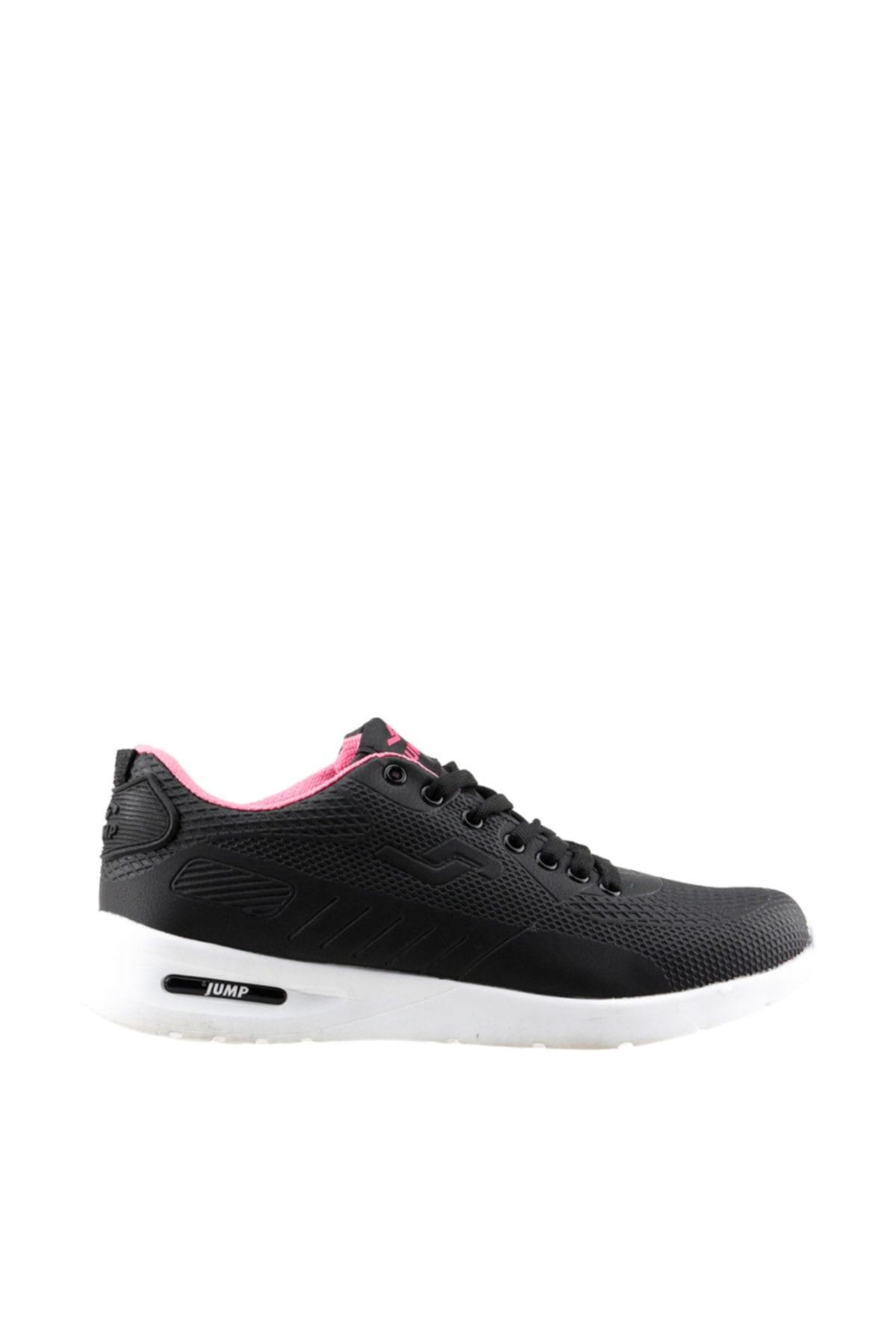 Siyah Fuşya Kadın Sneaker 190 19207-WG
