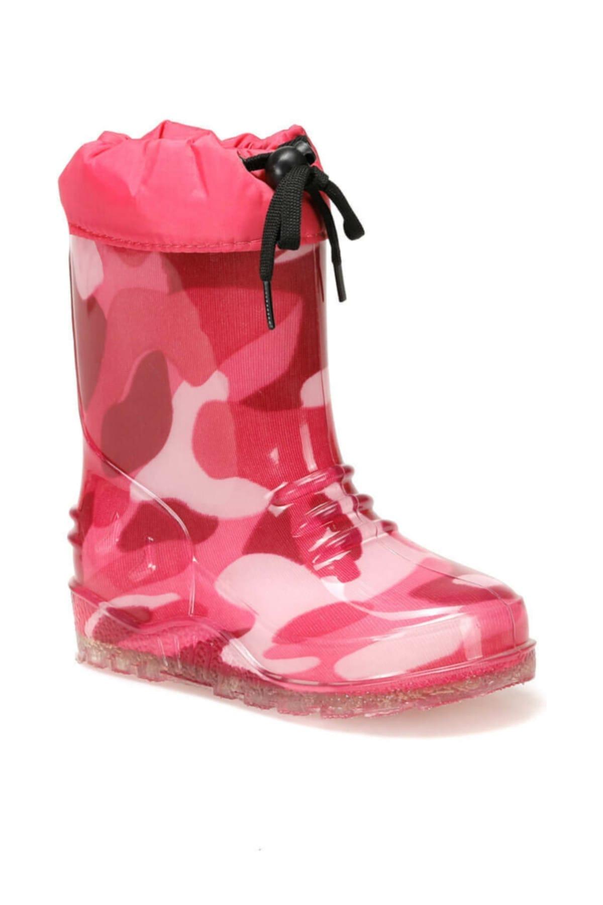 CANDY.P Fuşya Kız Çocuk Yağmur Çizmesi  Su Geçirmez 100439913