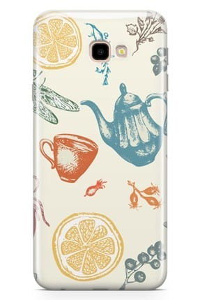Melefoni Samsung Galaxy J4 Plus Kılıf Tea Time Serisi Destiny 0