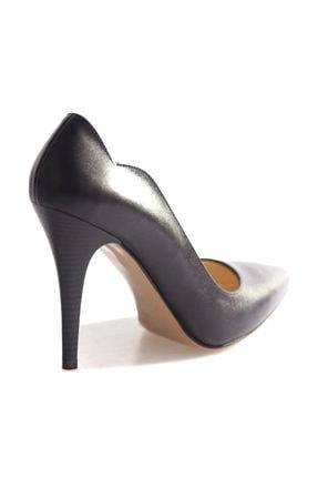 Dgn Siyah Kadın Klasik Topuklu Ayakkabı 166-127 2