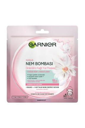 Garnier Nem Bombası Papatya Dinlendirici Kağıt Maske 0