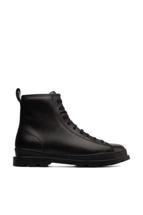 Hakiki Deri Siyah Erkek Casual Ayakkabı K300245-004-42