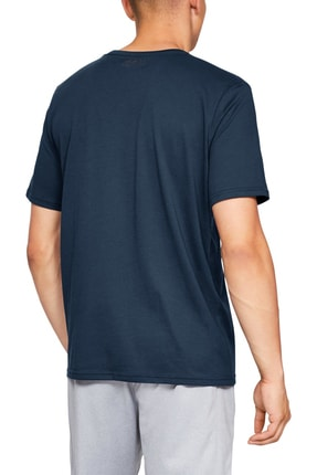 Under Armour Erkek Spor T-Shirt - SPORTSTYLE LEFT CHEST SS - 1326799-408 2
