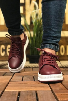 Chekich Bordo Erkek Sneaker CH043 1