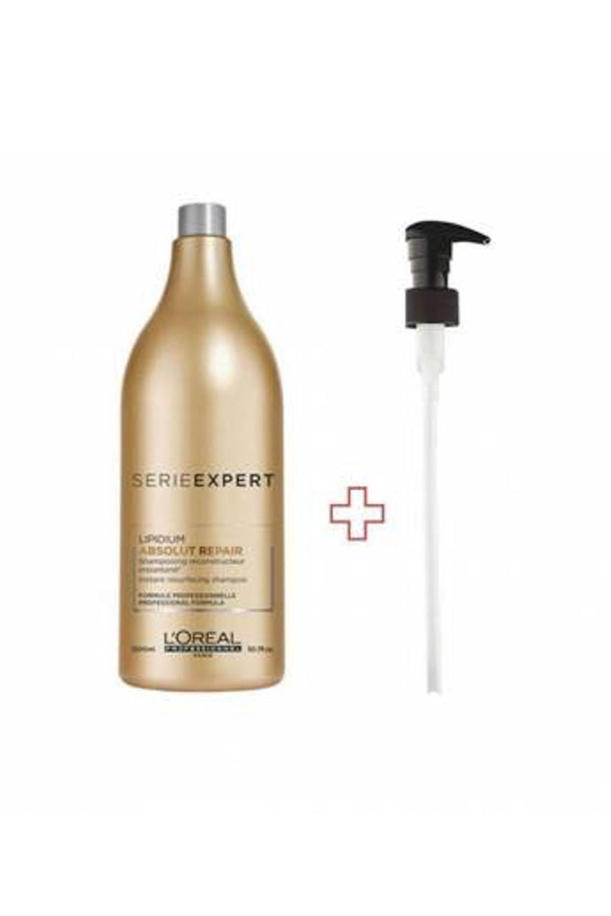 Aşırı Yıpranmış Saçlar İçin Onarıcı Şampuan  - Absolut Repair Lipidium 1500 ml