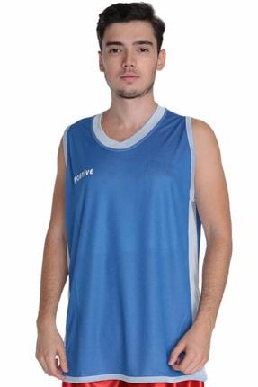 Basics Line Erkek Çift Taraflı Mavi Basetbol Forması resmi