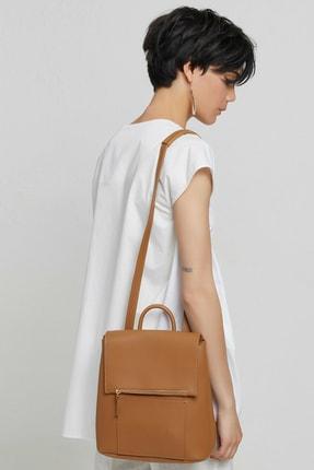 Yargıcı Kadın Kırık Beyaz Tunik Gömlek 9KKGM6142X 4