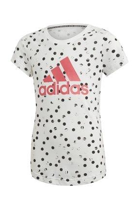 adidas Beyaz Çocuk Yg Mh Gra Tee Tişört 0