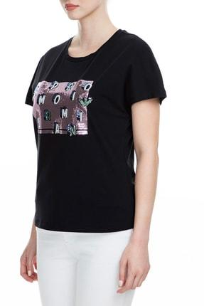 Emporio Armani Siyah Kadın T-Shirt 6G2T7X 2J7SZ 0999 2