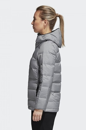 adidas W HELIONIC MEL Gri Kadın Mont 101117510 1