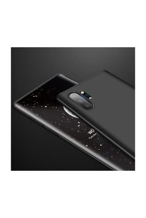 Telefon Aksesuarları Galaxy Note 10 Plus Kılıf Tam Koruma 360 Sert Silikon 3 Parçalı Ays Siyah Kırmızı 1