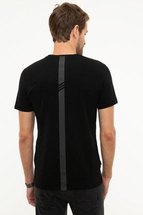 Pierre Cardin Erkek Siyah Slim Fit T-Shirt 2
