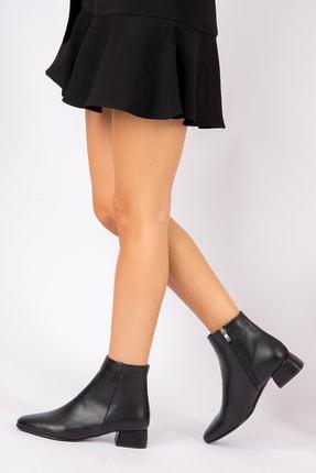 Fox Shoes Siyah Kadın Bot G922777709 1