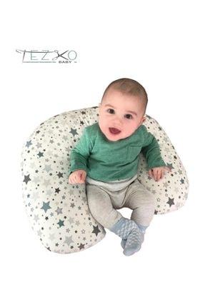TEZKOTEKSTİL Bebek Emzirme Destek Ve Oturma Minderi -yastığı 3