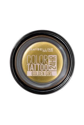Maybelline New York Krem Göz Farı - Color Tattoo 24HR 200 Golden Girl 3600531581510 0