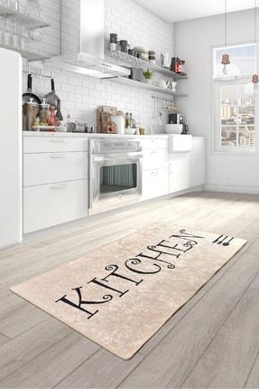 Chilai Home SPOON DJT Mutfak Halısı Modelleri, Yıkanabilir, Kaymaz Taban 0